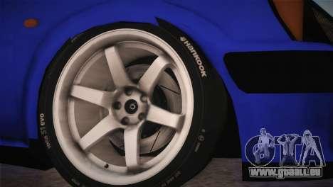 Peugeot 106 GTI F Tuning pour GTA San Andreas sur la vue arrière gauche