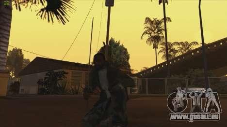 Katana from Killingfloor pour GTA San Andreas deuxième écran
