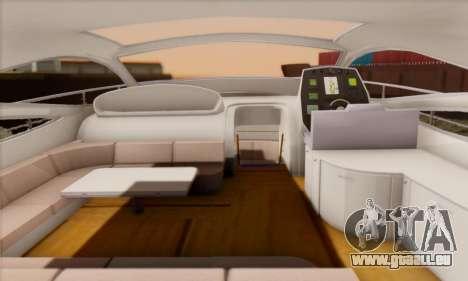 Speed Yacht pour GTA San Andreas vue de droite