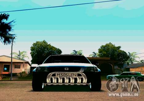 Honda CR-V pour GTA San Andreas laissé vue