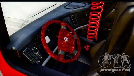 Volvo FH16 Hal Kamyonu für GTA San Andreas Rückansicht
