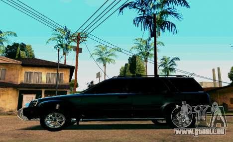 Honda CR-V pour GTA San Andreas sur la vue arrière gauche
