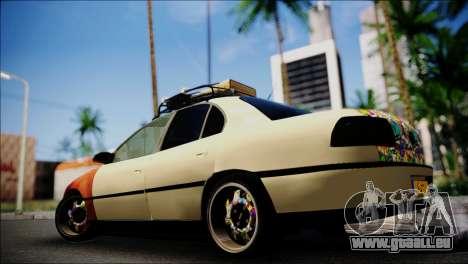 Opel Omega RAT pour GTA San Andreas laissé vue