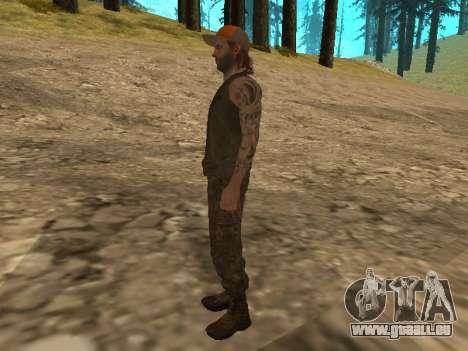 Cletus Ewing de GTA V pour GTA San Andreas quatrième écran