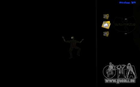 C-HUD Wu-Tang pour GTA San Andreas troisième écran