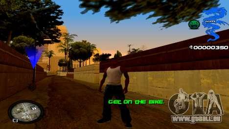 C-HUD Dragon für GTA San Andreas