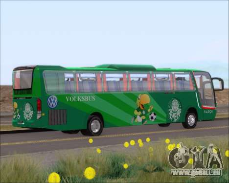 Busscar Vissta Buss LO Palmeiras pour GTA San Andreas vue arrière
