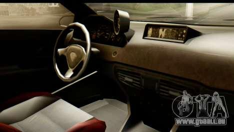GTA 5 Benefactor Schwartzer IVF pour GTA San Andreas vue arrière