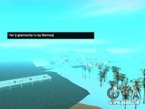 SampGUI Drapeau De La Russie pour GTA San Andreas deuxième écran