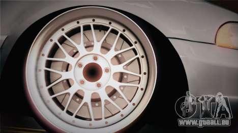 Audi S4 Avant für GTA San Andreas zurück linke Ansicht