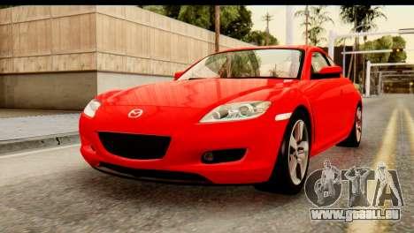 Mazda RX-8 2005 pour GTA San Andreas