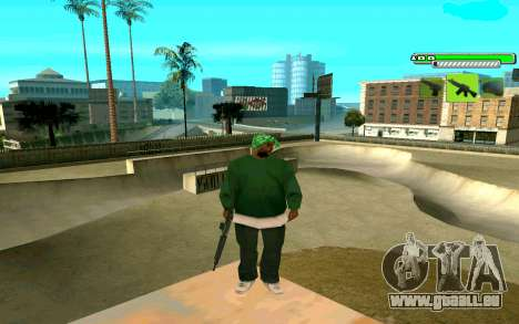 C-HUD Greny pour GTA San Andreas