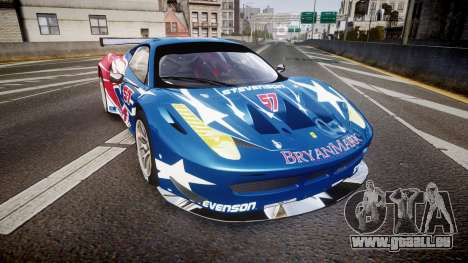 Ferrari 458 GT2 Stevenson Racing pour GTA 4