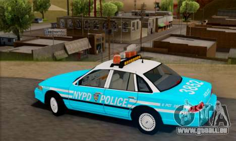 Ford Crown Victoria NYPD Blue für GTA San Andreas linke Ansicht