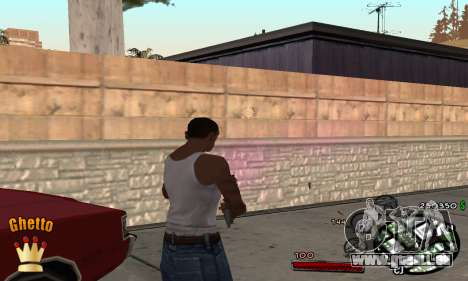 C-HUD Ghetto King für GTA San Andreas