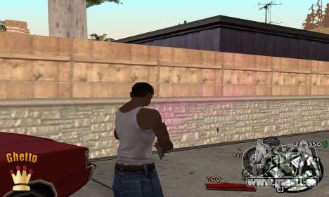 C-HUD Ghetto King für GTA San Andreas