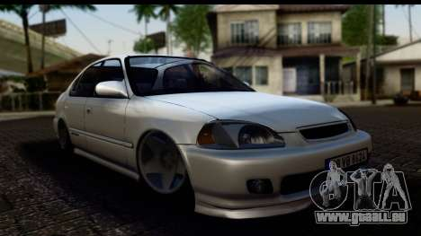 Honda Civic Park Garage für GTA San Andreas