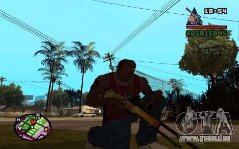 AWP Dragon Lore CS:GO für GTA San Andreas zweiten Screenshot