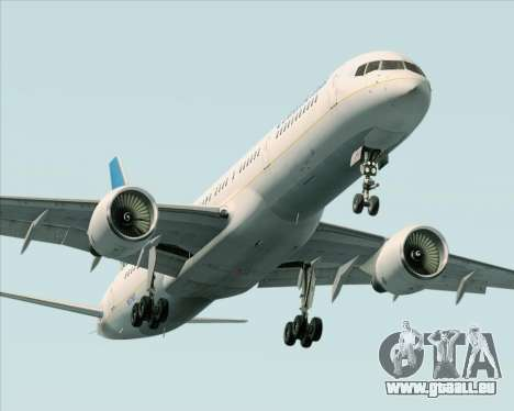 Boeing 757-200 Continental Airlines pour GTA San Andreas salon