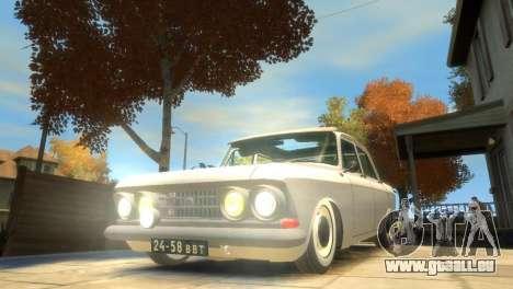 Moskvitch 412 pour GTA 4 Salon
