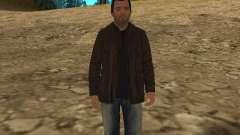 Michael de GTA 5 avec un nouveau costume