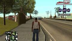C-HUD by Sorel für GTA San Andreas
