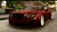 Bentley Continental VIP Stance Style pour GTA San Andreas