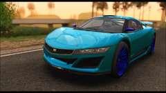 Dinka Jester Racecar (GTA V) (SA Mobile) pour GTA San Andreas