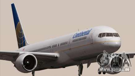 Boeing 757-200 Continental Airlines für GTA San Andreas
