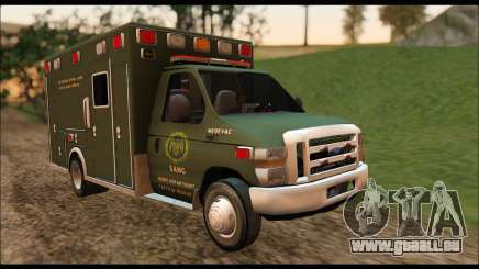 Ford E450 Ambulance SANG Tactical Rescue pour GTA San Andreas