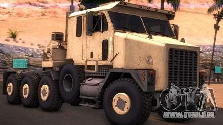 Oshkosh M1070 HET Tank Transporter pour GTA San Andreas