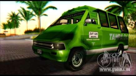 Toyota Microbus pour GTA San Andreas