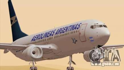 Boeing 737-800 Aerolineas Argentinas pour GTA San Andreas