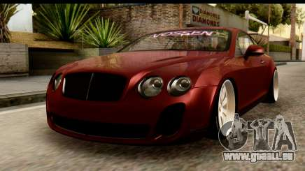 Bentley Continental VIP Stance Style für GTA San Andreas