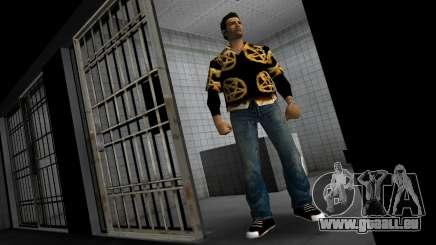 Pentagram Shirt pour GTA Vice City