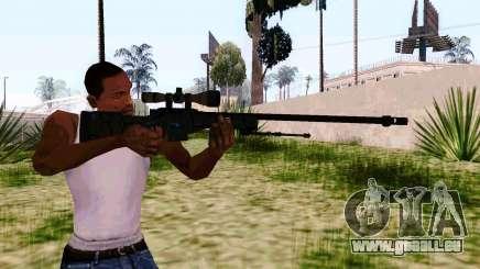AWP L96A1 (Dodgers) pour GTA San Andreas