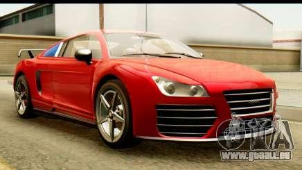 GTA 5 Obey 9F Coupe SA Mobile für GTA San Andreas
