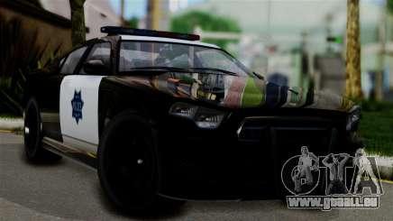 GTA 5 Buffalo S Taxi pour GTA San Andreas