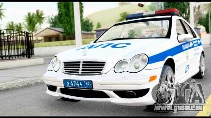Mercedes-Benz C32 AMG ДПС für GTA San Andreas