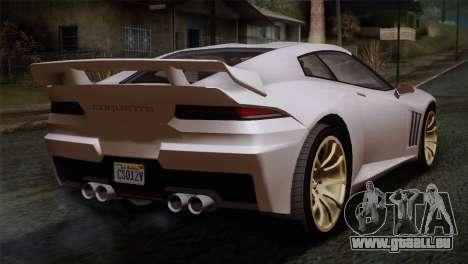 GTA 5 Bravado Banshee SA Mobile pour GTA San Andreas laissé vue