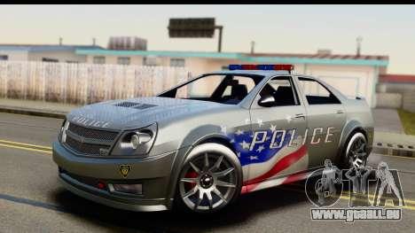 EFLC TBoGT Albany Police Stinger SA Mobile pour GTA San Andreas