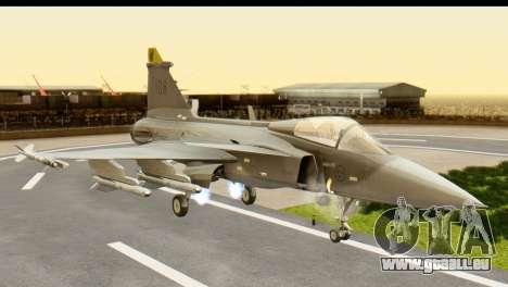 Saab Gripen NG pour GTA San Andreas