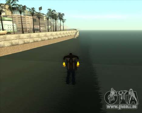Realistic Water ENB pour GTA San Andreas troisième écran