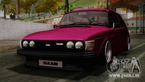 Saab 99 Turbo Stance pour GTA San Andreas