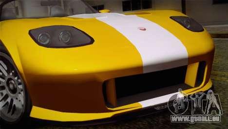 GTA 5 Invetero Coquette SA Mobile pour GTA San Andreas vue arrière