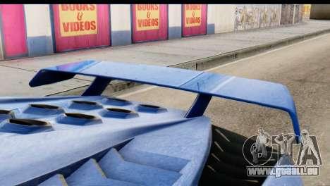GTA 5 Pegassi Zentorno v2 pour GTA San Andreas vue de droite