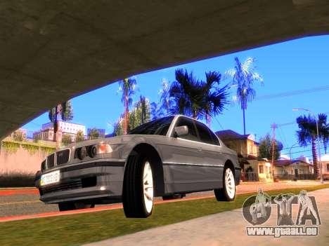 BMW 740i BL pour GTA San Andreas laissé vue