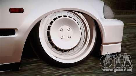 Honda Civic TnTuning pour GTA San Andreas sur la vue arrière gauche