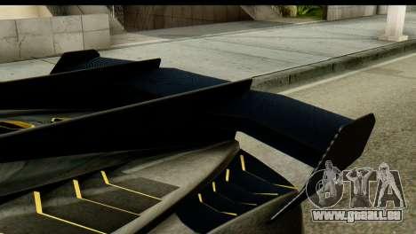 GTA 5 Pegassi Zentorno v2 SA Mobile pour GTA San Andreas sur la vue arrière gauche