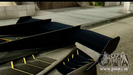 GTA 5 Pegassi Zentorno v2 SA Mobile für GTA San Andreas zurück linke Ansicht